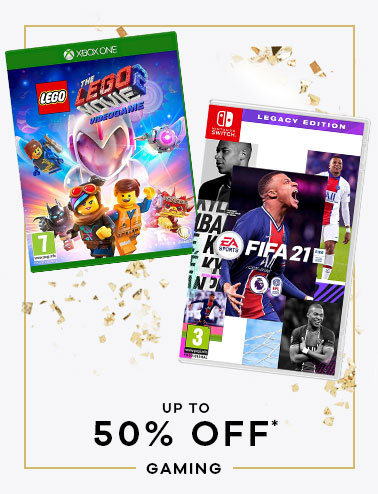 up to 50% off* Gaming