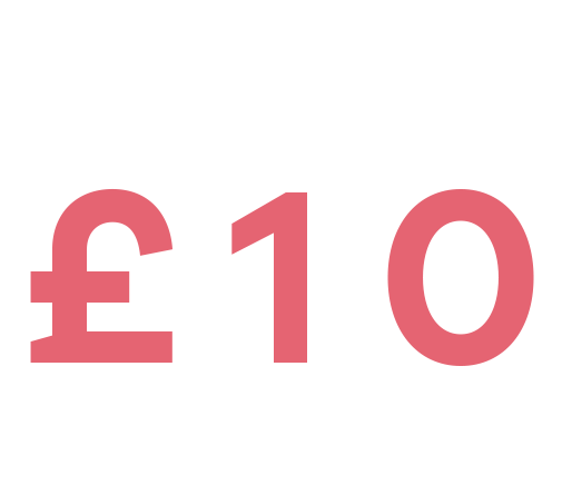 over one thousand styles £10 or less