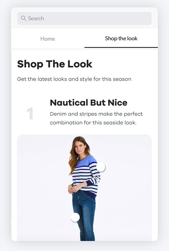 Search for your next outfit