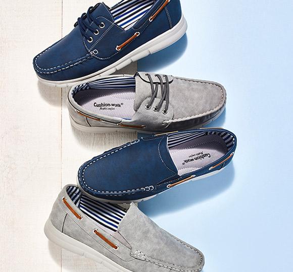 Cushion walk footwear