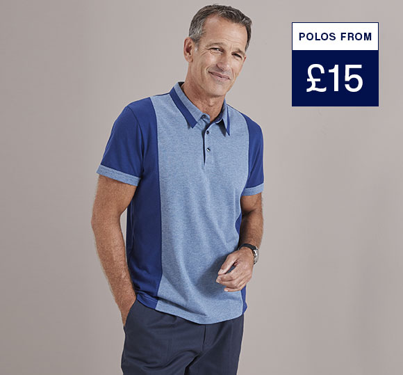 Keep it casual - new in polos