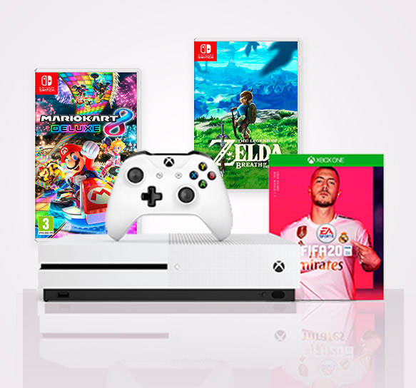 shop gaming and consoles