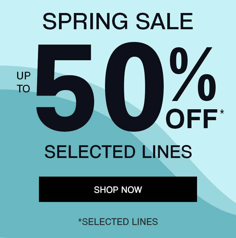 shop spring sale