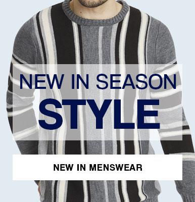 New in Menswear