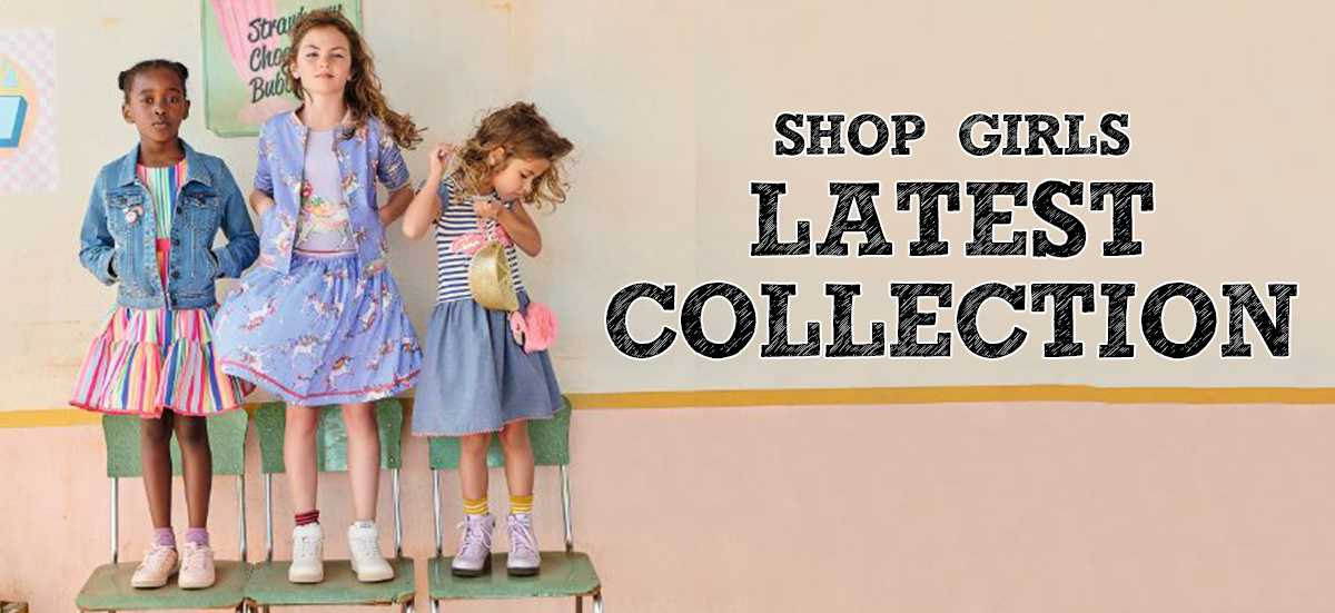 Shop girls latest collection