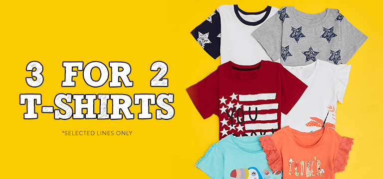 3 for 2 T-Shirts