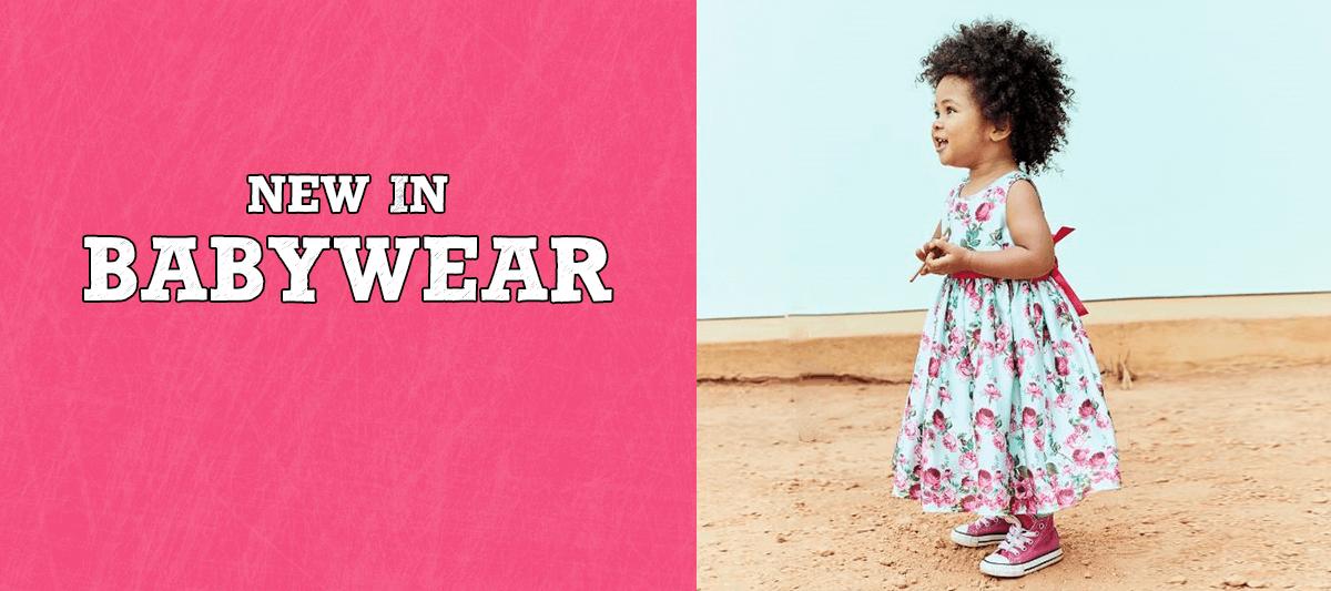 New in babywear